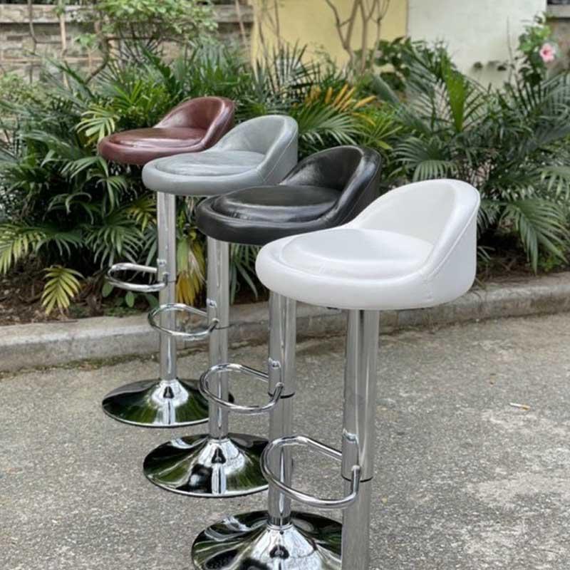 Ghế Bar mặt ốc đệm da chân nâng hạ nhập khẩu GB229