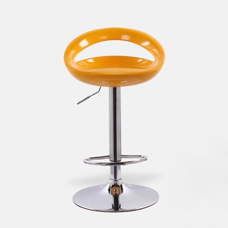 Ghế bar nhựa thủng hở lưng chữ C, chân mạ Crom GB226