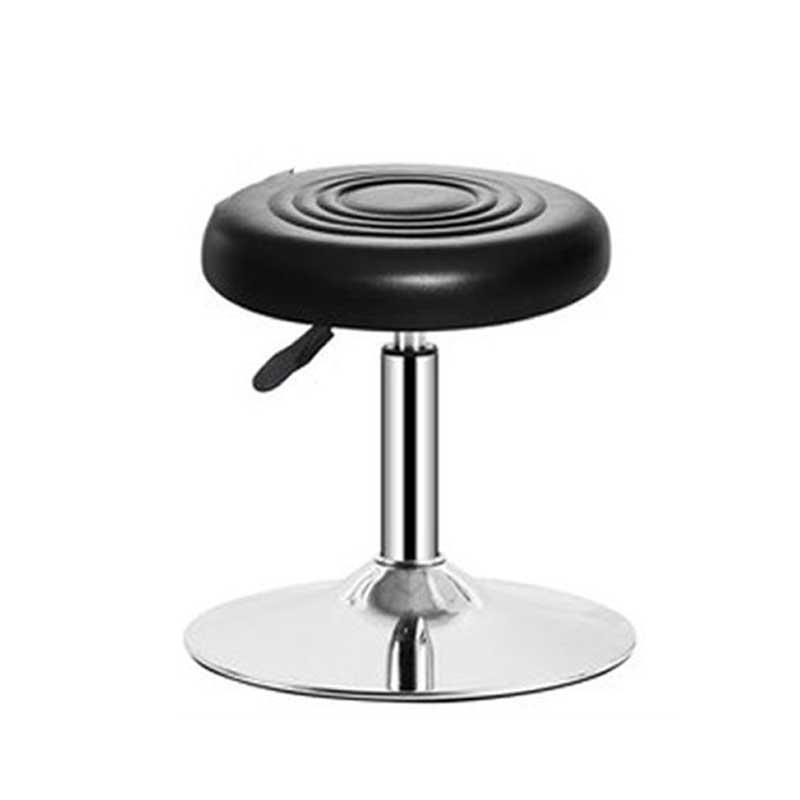 Ghế đôn chân trụ mặt ghế nhựa bọc da giá rẻ GB929