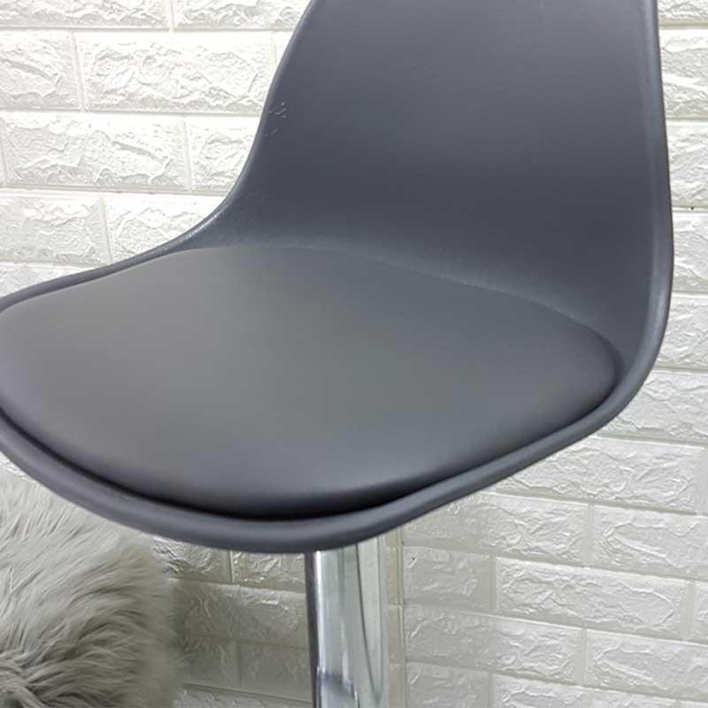 Ghế quầy Bar mặt nhựa đệm da nâng hạ độ cao GB289