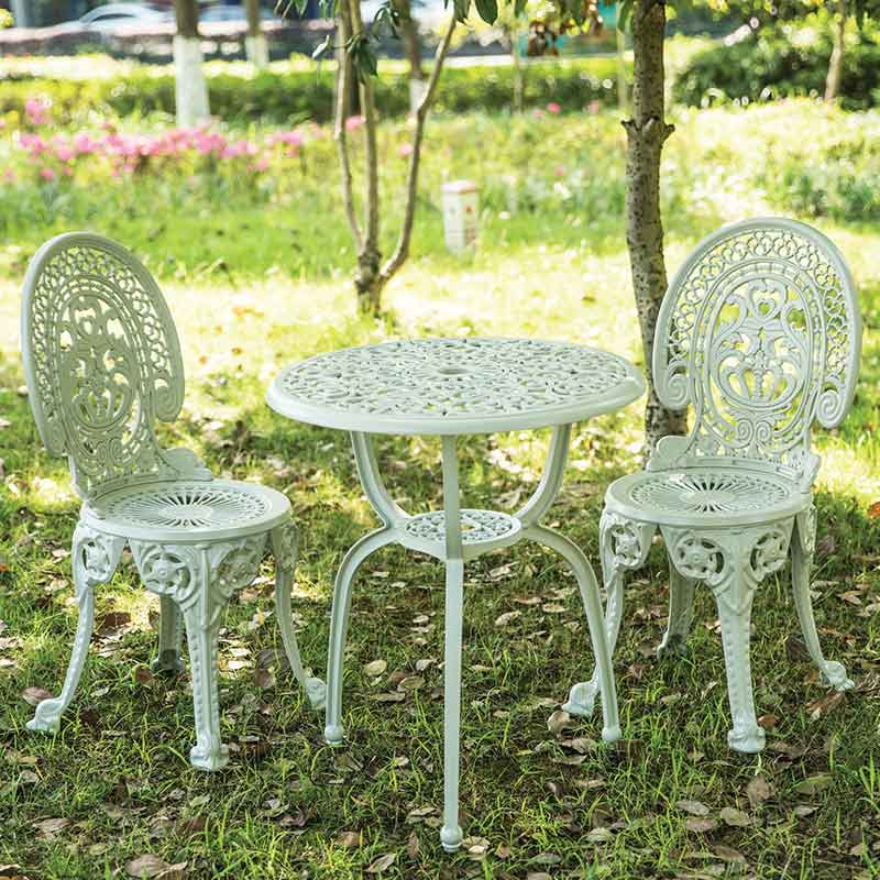 Bộ bàn ghế nhôm đúc sơn tĩnh điện nhập khẩu BS256