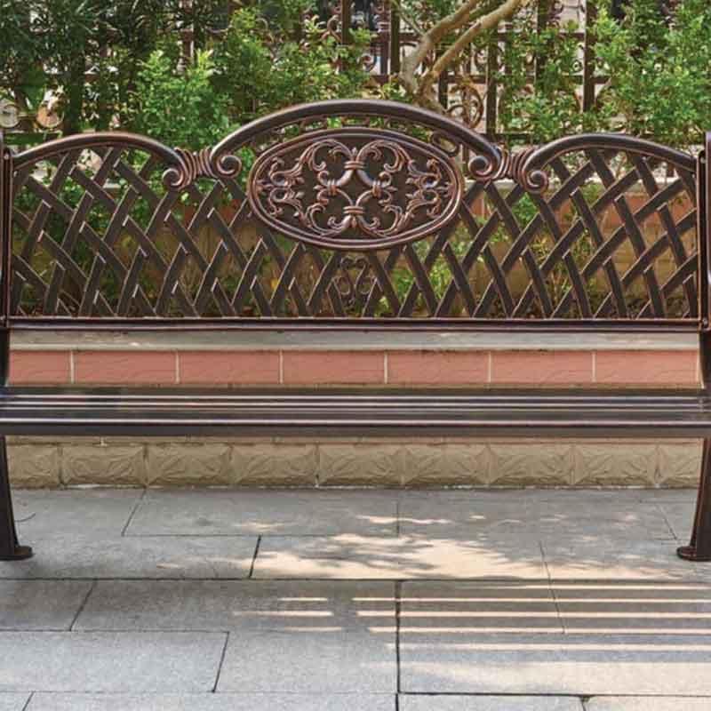 Ghế băng sân vườn hợp kim nhôm đúc cao cấp BS288