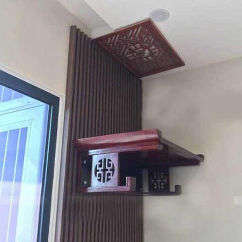 Bàn thờ treo đẹp cho căn hộ chung cư BO666