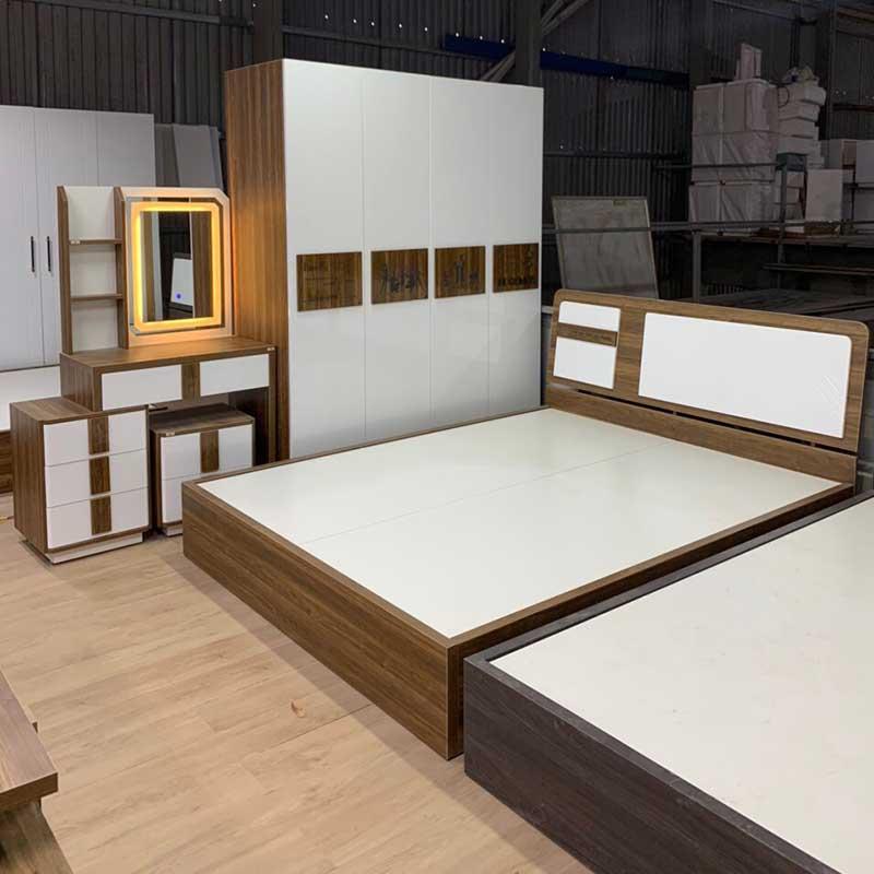 Combo phòng ngủ gỗ công nghiệp đẹp giá rẻ CB202