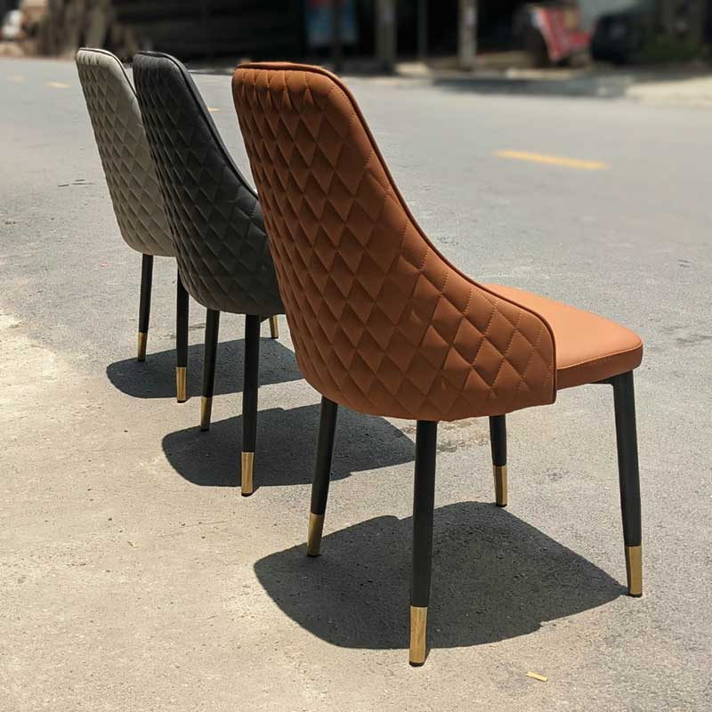 Ghế ăn, ghế cafe Sheraton lưng trám đẹp, chắc chắn GA629