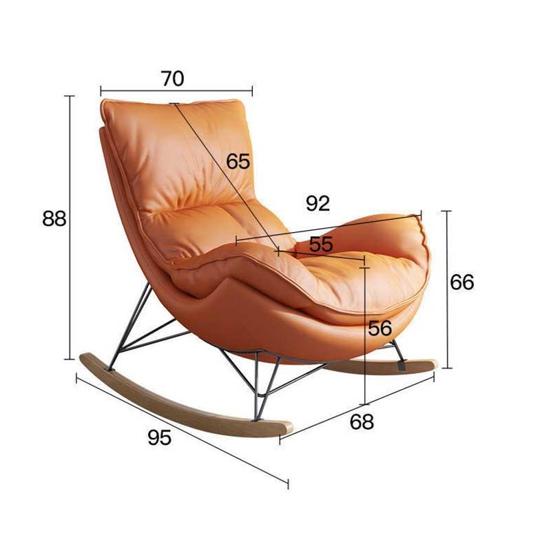 Ghế bập bênh thư giãn cao cấp kèm đôn ghế GG969