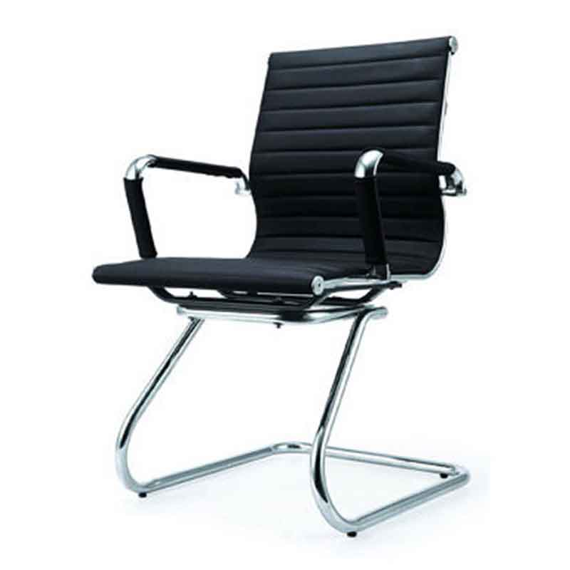 Ghế văn phòng chân quỳ mặt ghế bọc da nhập khẩu GV551