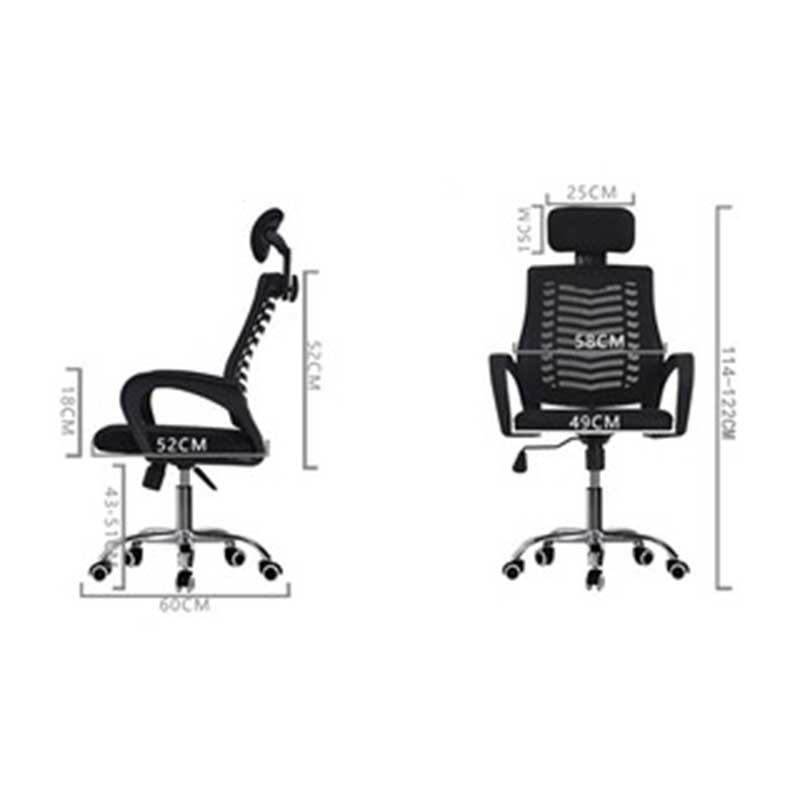 Ghế xoay văn phòng 360 độ có tựa đầu GV559