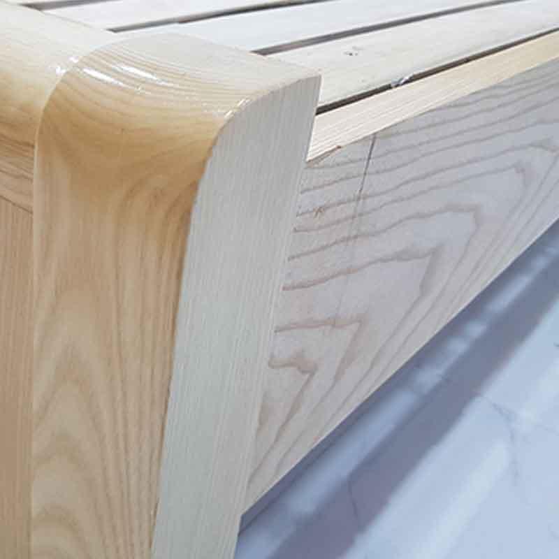 Giường gỗ sồi Nga nhập khẩu kích thước 1m6 GN086