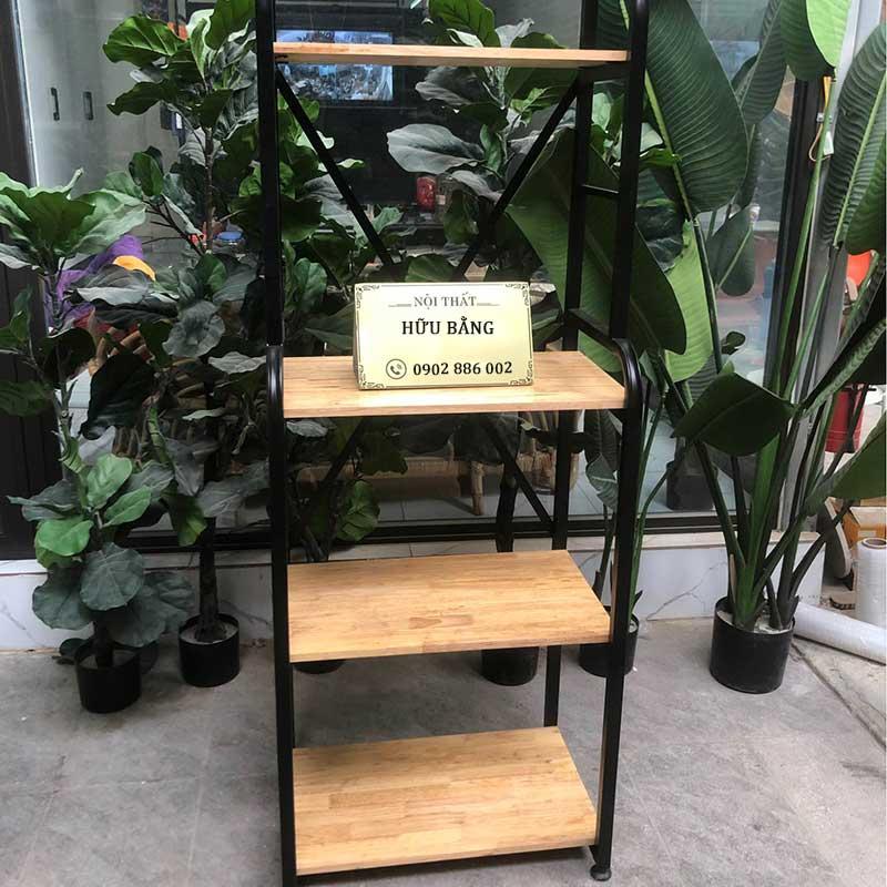 Kệ để đồ đa năng, khung thép mặt gỗ chắc chắn TR256