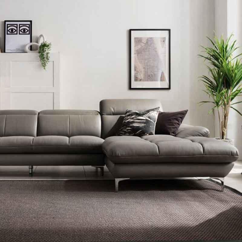 Ghế sofa góc bọc da cao cấp dài 2m9 SF698
