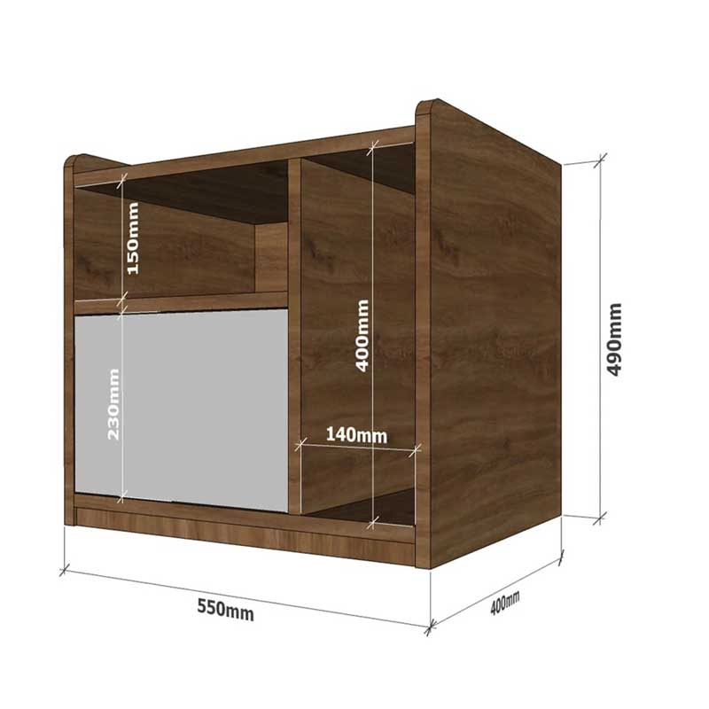 Tủ tab đầu giường gỗ kiểu dáng nhỏ gọn TD546