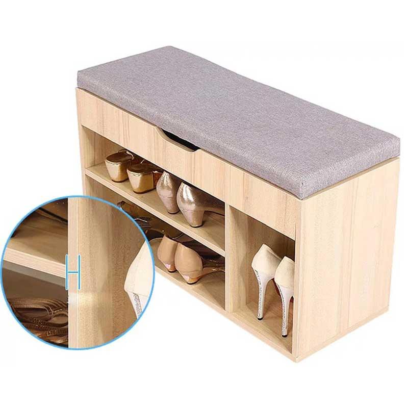 Kệ để giầy nhỏ gọn gỗ công nghiệp đa chức năng TG628