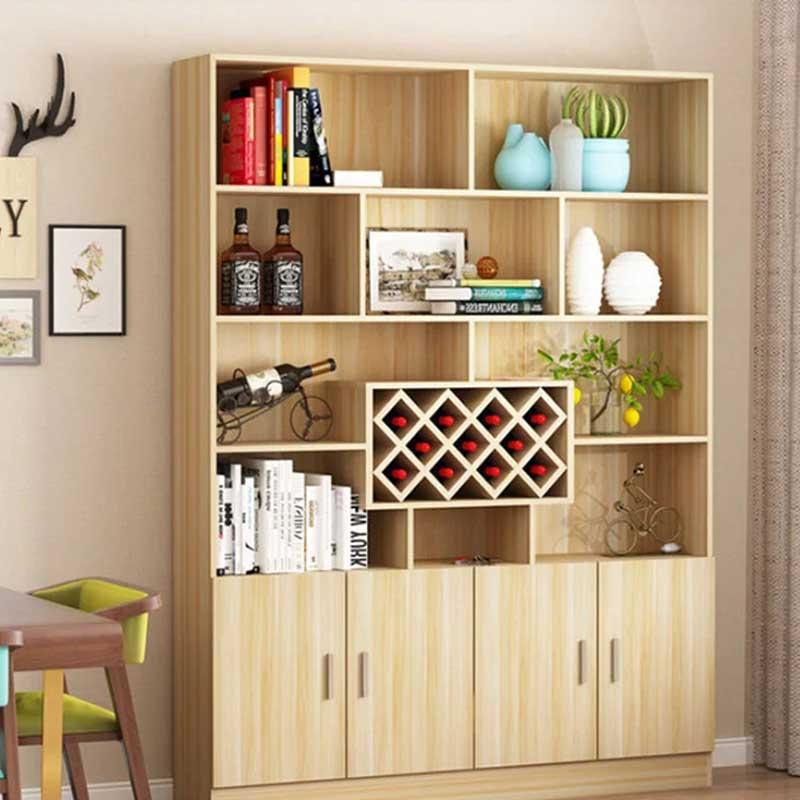 Tủ đựng rượu gỗ công nghiệp phong cách hiện đại TR698