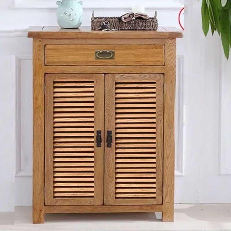 Tủ gỗ để đồ 2 cánh 1 ngăn kéo tiện dụng TT288