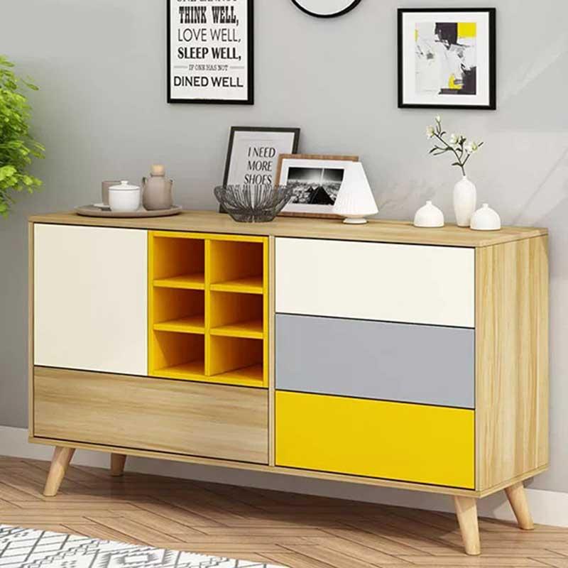 Tủ trang trí 1,2m chất liệu gỗ công nghiệp đẹp TT345