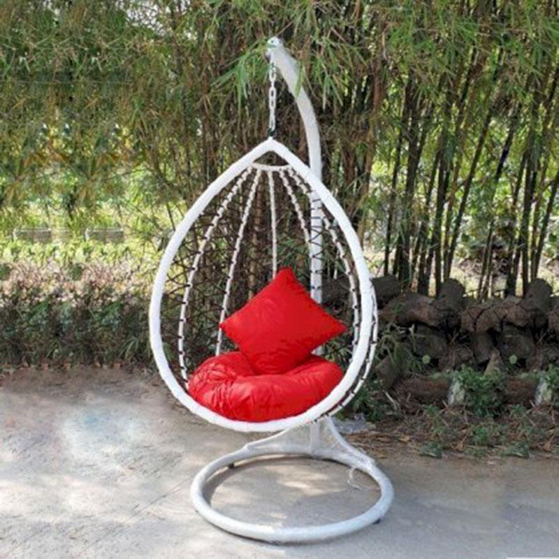 Ghế xích đu hình giọt nước đan ZichZac XD686