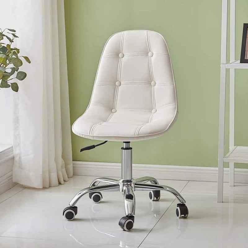 Ghế bọc da cúc chân xoay nâng hạ, màu sắc đa dạng GB262