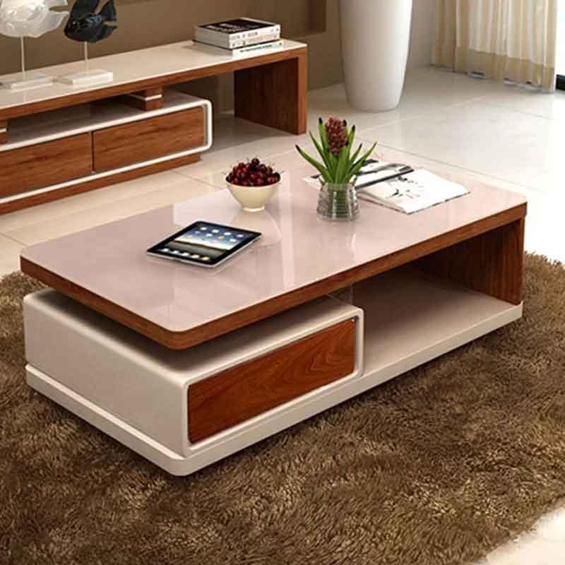 Bàn trà sofa gỗ công nghiệp kiểu dáng hiện đại BT955