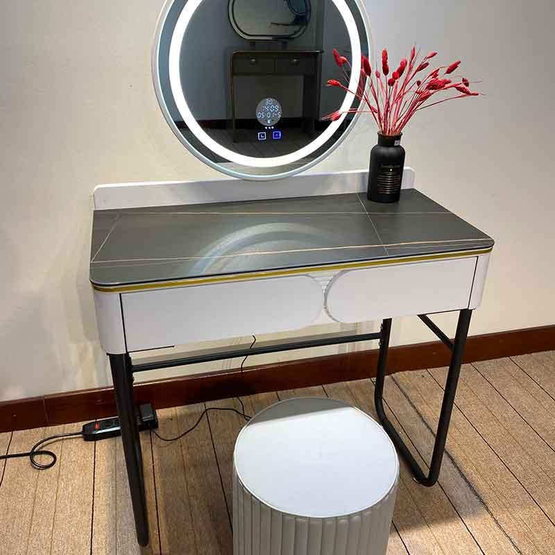Bàn Make Up đơn giản, tinh tế kết hợp ghế ngồi BP565