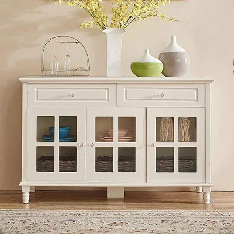 Tủ bếp gỗ tự nhiên phun sơn kích thước 1m4 x 0,860m TB643