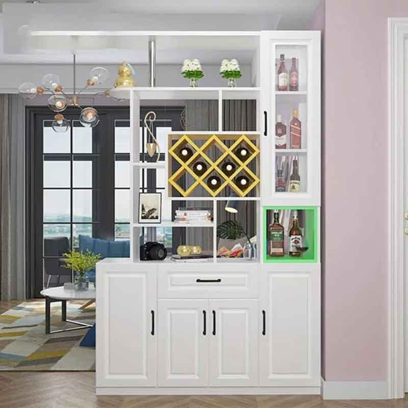 Tủ đựng rượu gỗ công nghiệp thiết kế đa năng TR628
