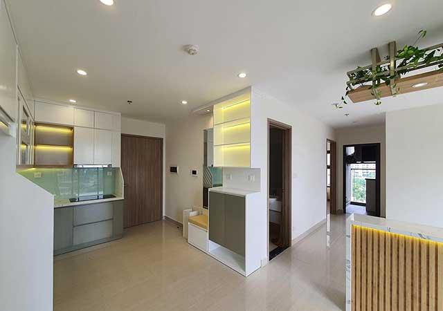 Thiết kế & thi công nội thất căn 2 ngủ chị Hằng chung cư Gamuda