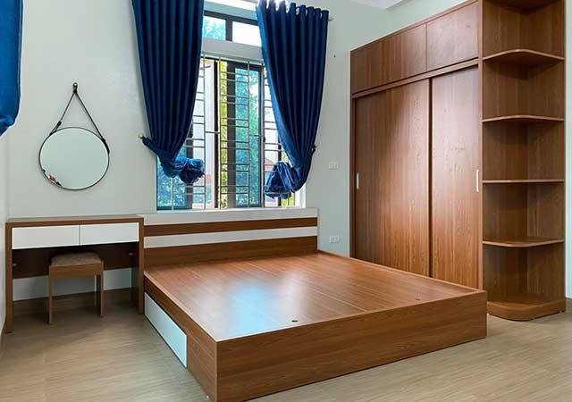 Thiết kế, thi công nội thất chung cư 2 ngủ anh Lâm Hateco Apolo
