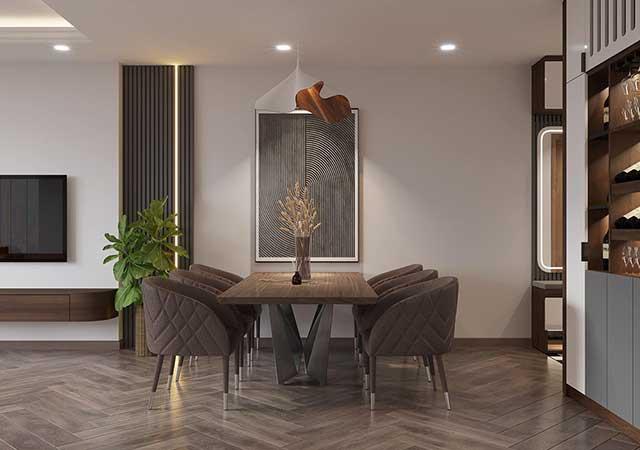 Thiết kế và thi công nội thất căn hộ chung cư New Skylight Hà Đông