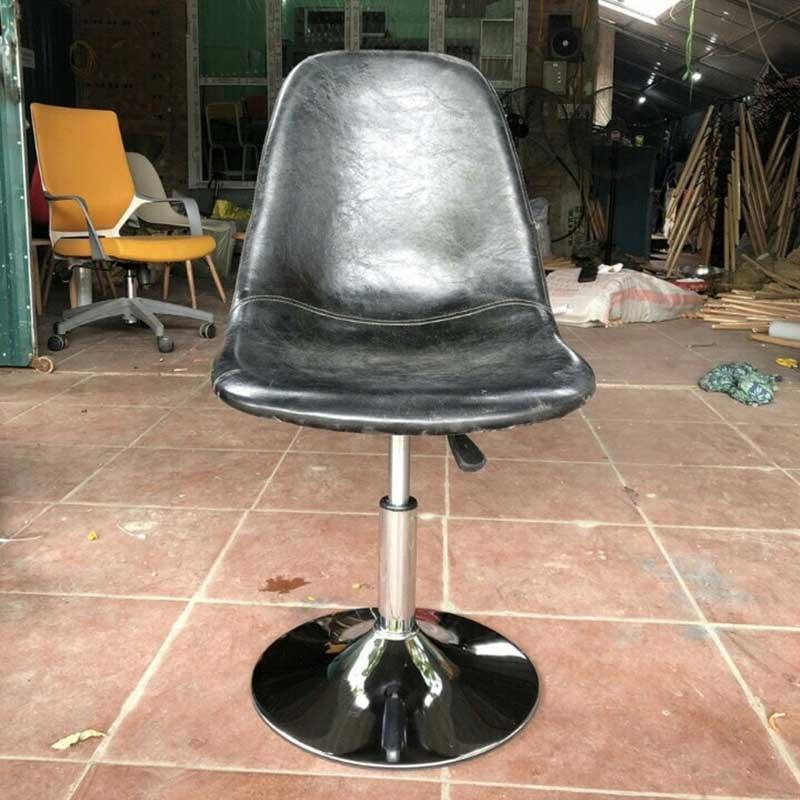 Ghế Bar mặt ghế da bò cao cấp nhập khẩu GB999