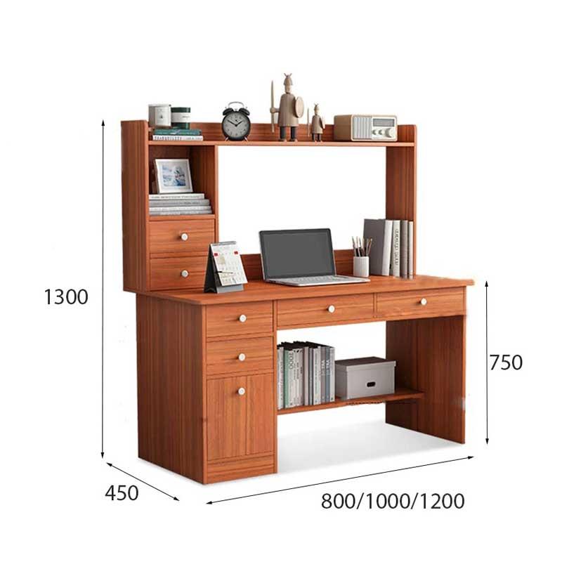 Bàn học thiết kế đa dụng gỗ MDF phủ Melamin vân gỗ BH323