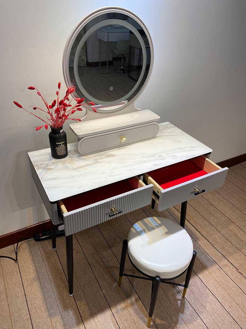 Bộ bàn phấn trang điểm Decor kiểu dáng hiện đại BP586