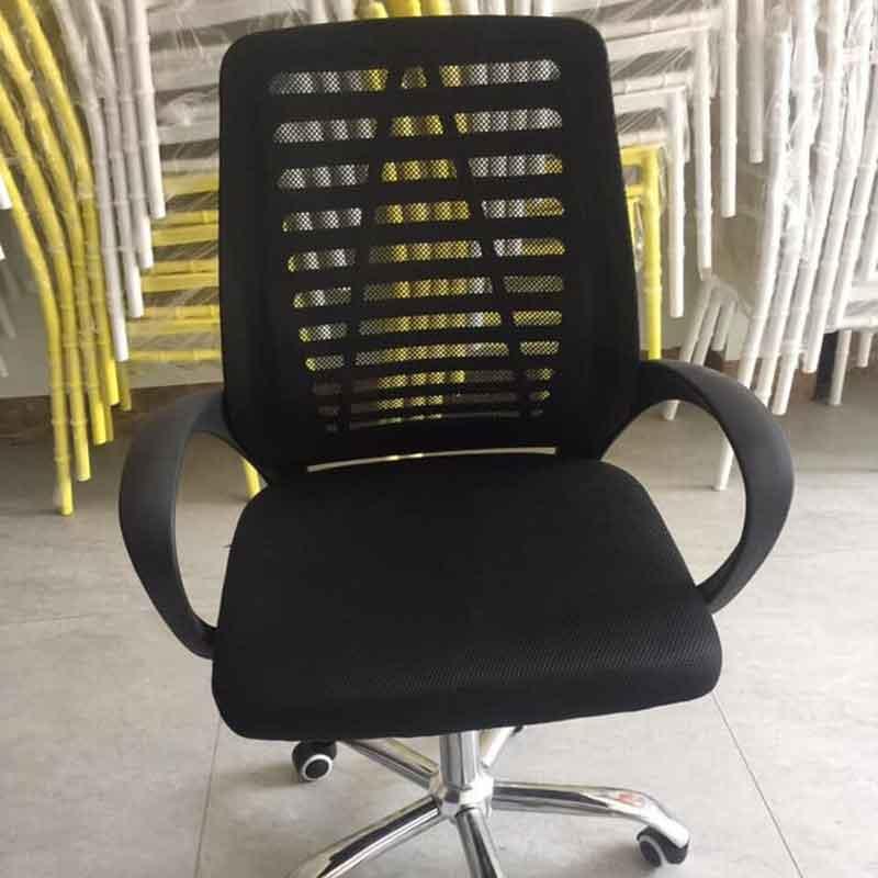 Ghế nhân viên bánh chân xoay 360 độ, mặt lưới GV557