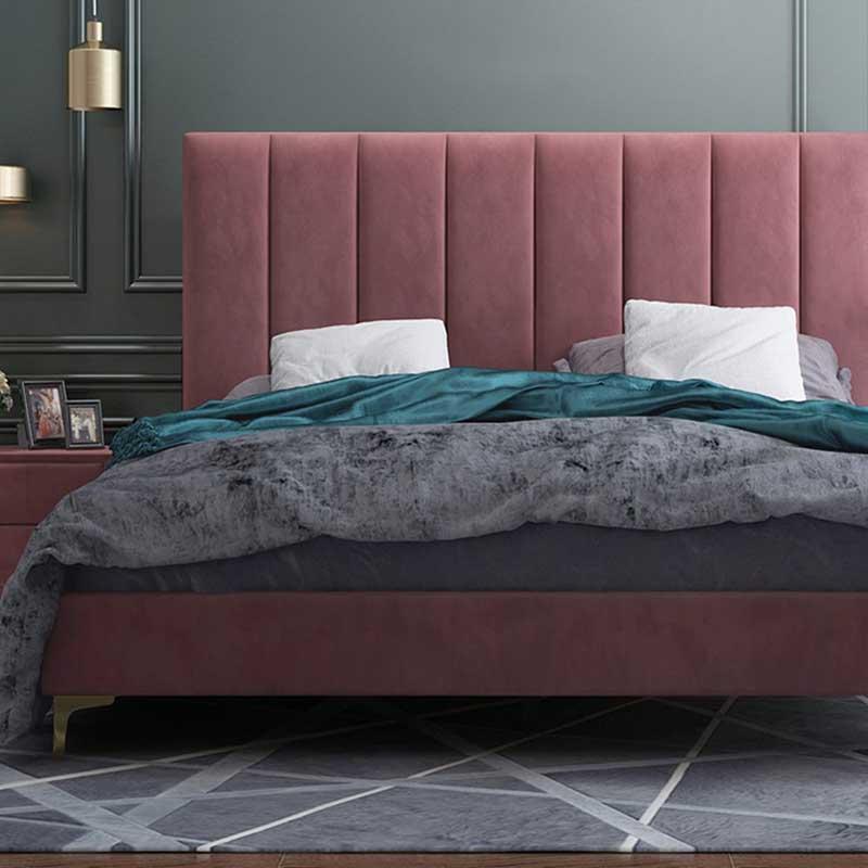 Giường ngủ bọc nệm đầu giường thiết kế độc đáo GN888