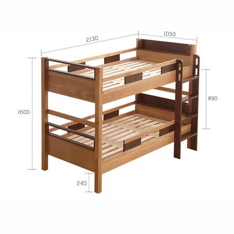Giường tầng gỗ sồi tự nhiên mẫu MỚI cực hot GN955