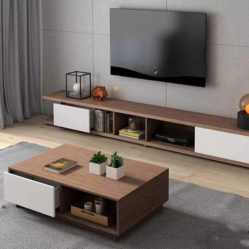 Kệ tivi đơn giản trang nhã cho phòng khách KT105