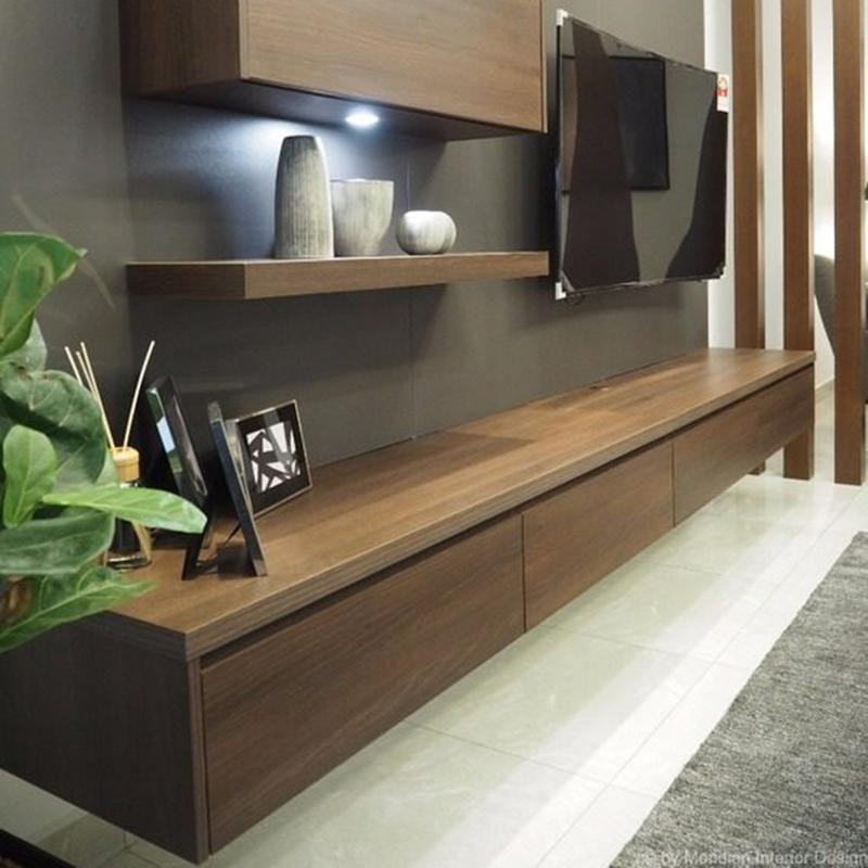 Kệ tivi treo tường đẹp gỗ tốt chọn lọc giá rẻ KT224