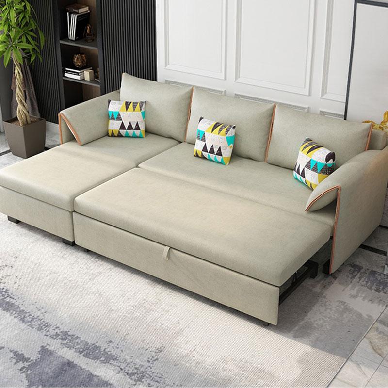 Sofa giường kéo bọc nỉ đa năng SF691