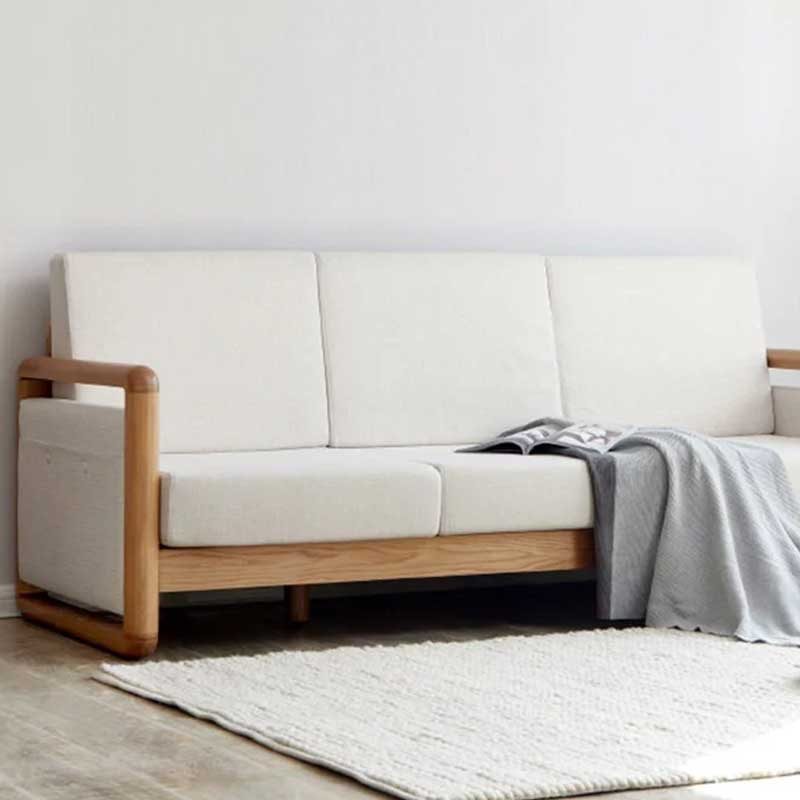 Sofa gỗ tự nhiên tiện nghi sang trọng SF881