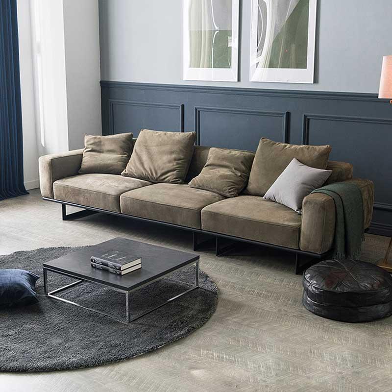 Sofa văng bọc nỉ cao cấp khung thép sơn tĩnh điện SF635