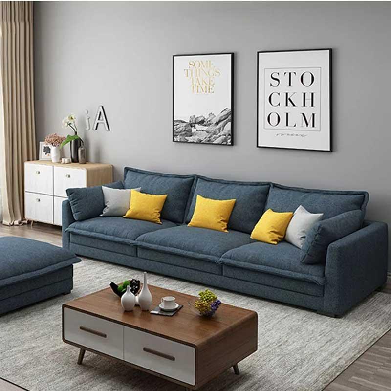 Sofa văng bọc nỉ kiểu dáng hiện đại SF885
