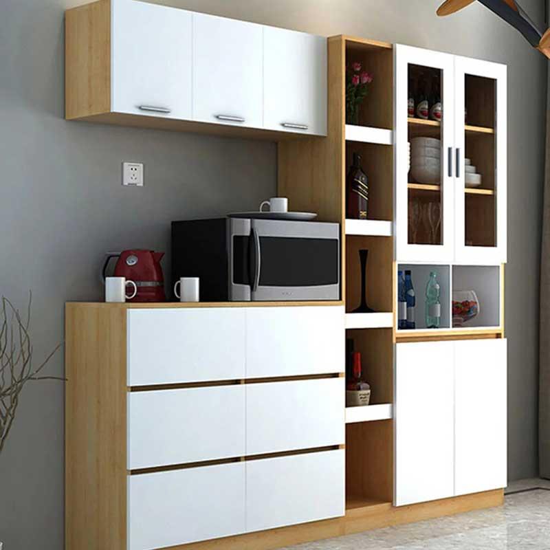 Tủ bếp thiết kế thông minh gỗ MDF chống ẩm TB884