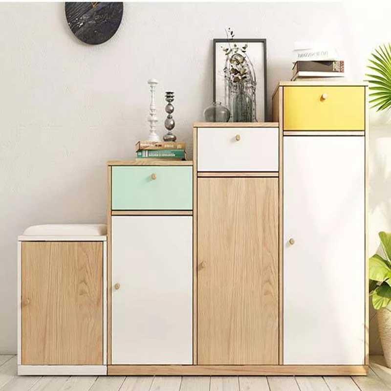 Bộ tủ giầy kiểu dáng hiện đại cho phòng khách TG633