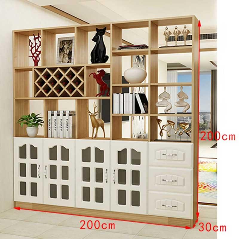 Tủ đựng rượu kết hợp kệ trang trí tiện dụng TR699