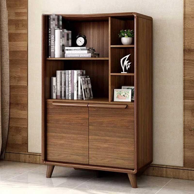 Tủ để đồ phòng khách gỗ tự nhiên kích thước 81,7cm TT332