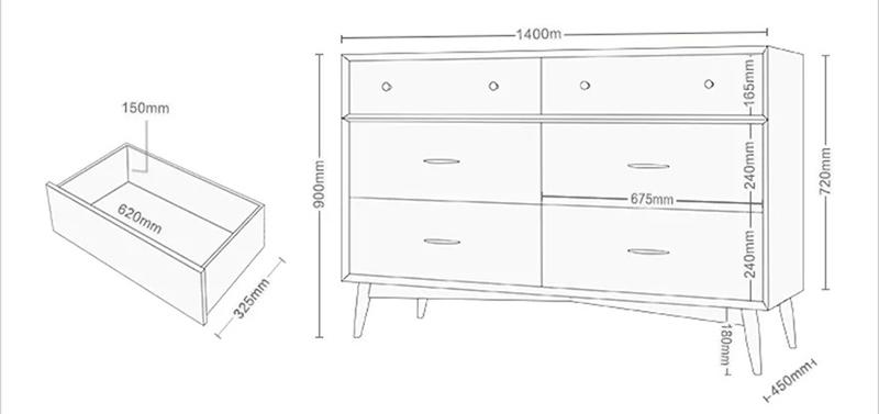 Tủ trang trí phòng khách chất liệu gỗ sồi TT226