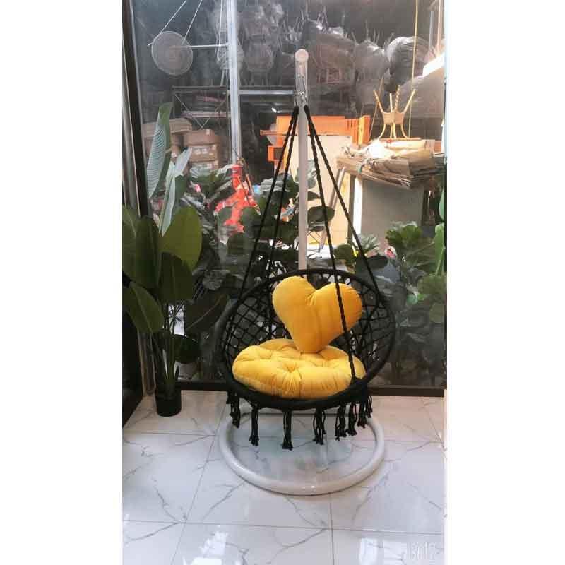 Xích đu gió đan bím đủ màu chịu tải lên đến 160kg XD106