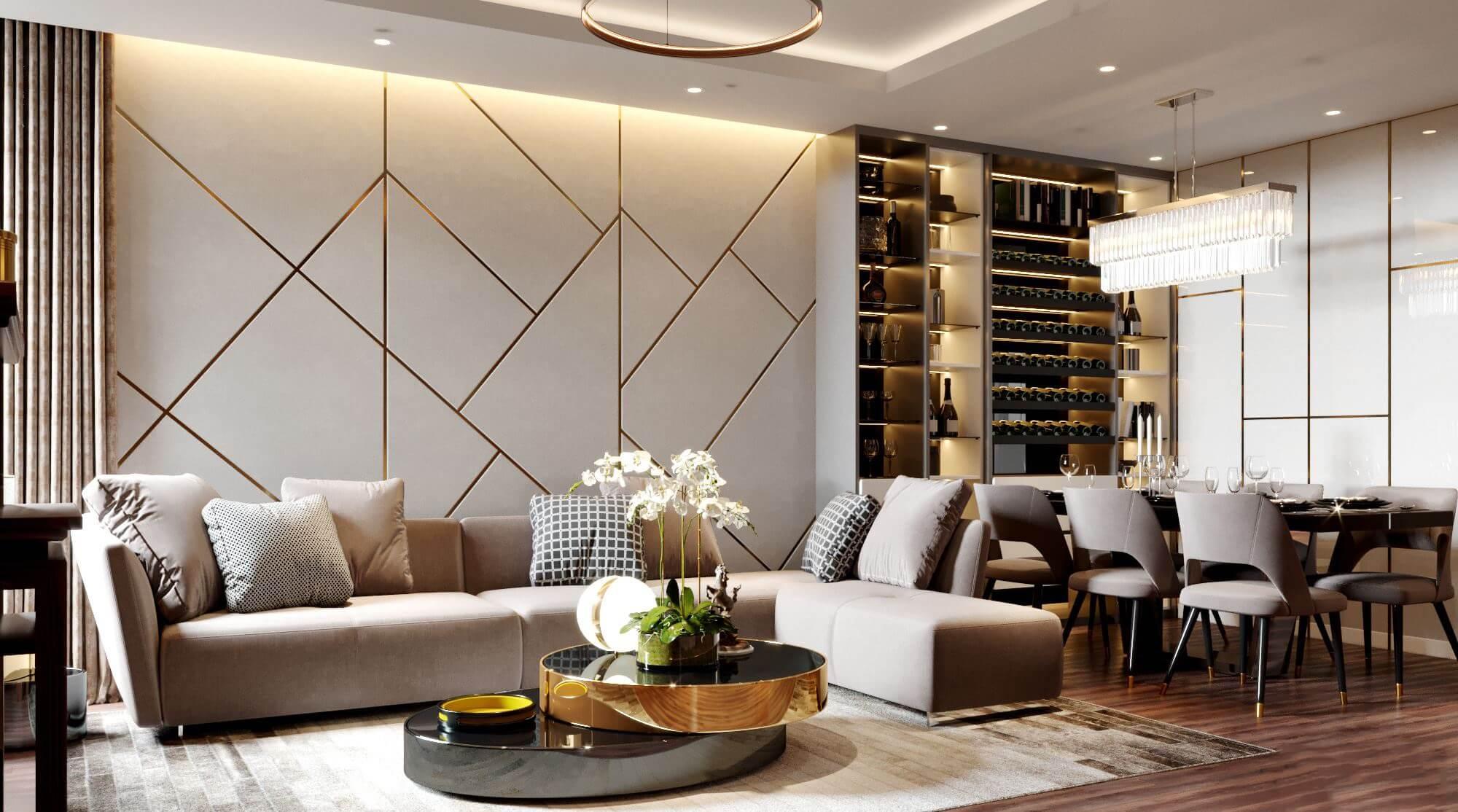 Thiết kế nội thất căn hộ chung cư   Nội Thất Hữu Bằng
