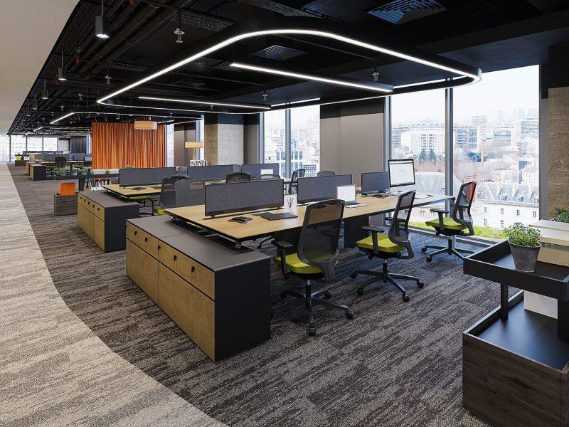 Thiết kế nội thất văn phòng   Nội Thất Hữu Bằng