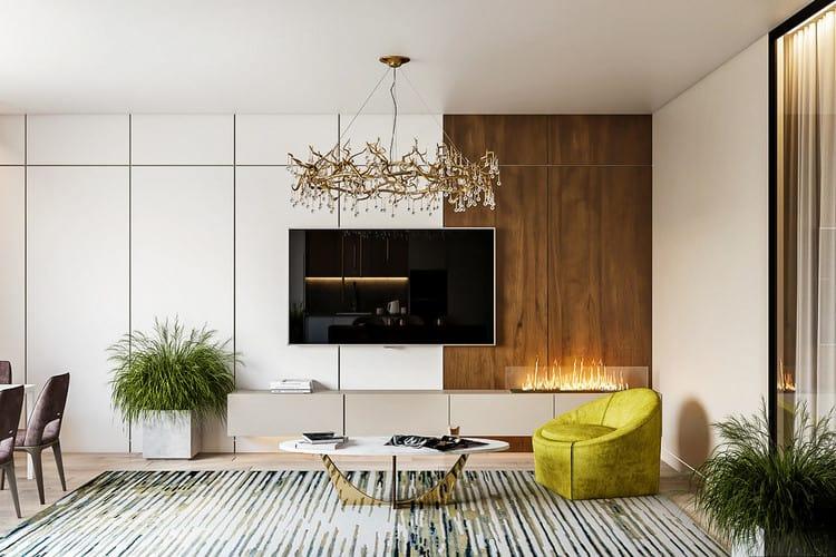 Tổng hợp các mẫu thiết kế nội thất phòng khách chung cư HOT nhất hiện nay